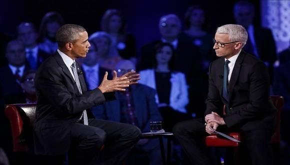 Barack Obama reiteró la importancia de cambiar ciertas leyes para regular el acceso a las armas de fuego. Foto: EFE.