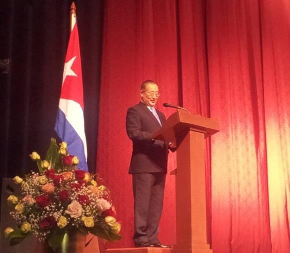 Qiang Tang, Subdirector General de la Organización de las Naciones Unidas para la Educación, la Ciencia y la Cultura (Unesco). Foto: Cubadebate.
