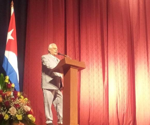 Rodolfo Alarcón, ministro de Educación Superior de CubaFoto: L Eduardo Domínguez/ Cubadebate.
