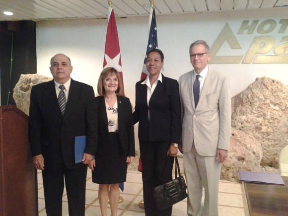 El memorando fue firmado luego de un año de discusiones técnicas bilaterales sobre el tema. Foto: María del Carmen Ramón.