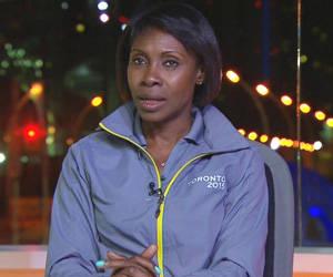 Mireya Luis, durante una entrevista en los Juegos Panamericanos de Toronto 2015. Foto: Trabajadores