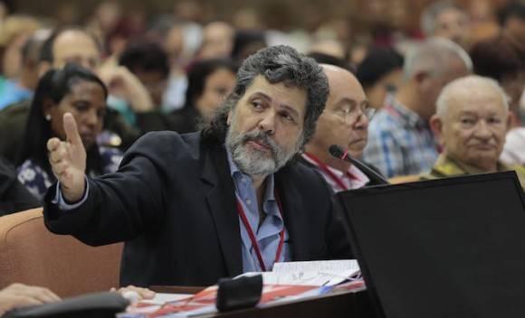 El delegado Abel Prieto. Foto: Ismael Francisco/ Cubadebate