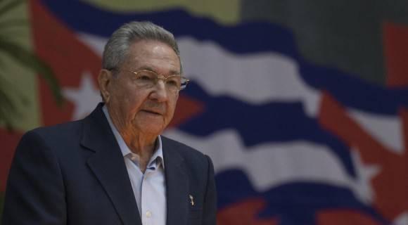 El General de Ejército Raúl Castro, Primer Secretario del PCC, en el Plenario del VII Congreso del Partido. Foto: Ismael Francisco/ Cubadebate