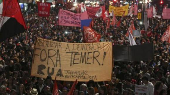 Miles de jóvenes están viviendo un proceso de autoformación como militantes anticapitalistas. Foto: Esquerra Anticapitalista.