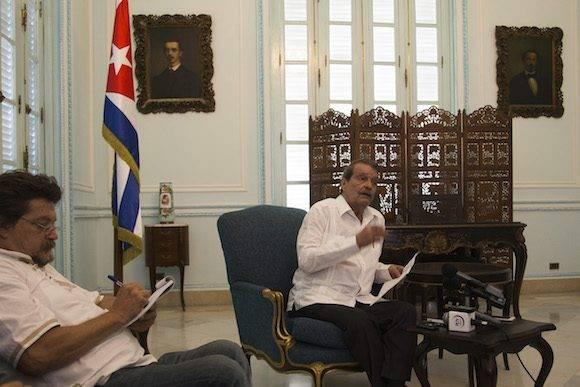 """""""Es un proceso en dos direcciones"""", explicó Moreno, quien el jueves y viernes encabezó la delegación cubana que viajó a Washington. Foto: Ismael Francisco/ Cubadebate"""