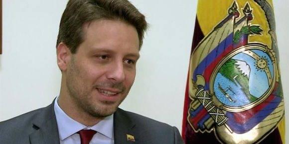 En la imagen, el canciller ecuatoriano, Guillaume Long. Foto: EFE