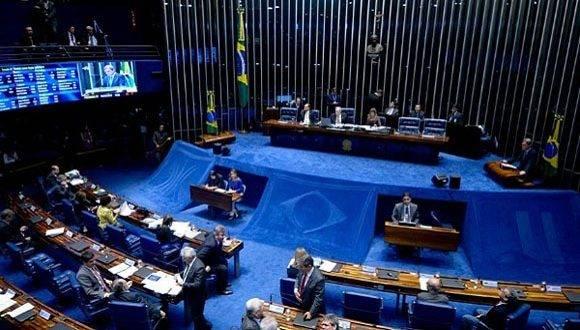 El Senado Brasileño votó a favor de la destitución de Dilma Rousseff. Foto: Archivo.