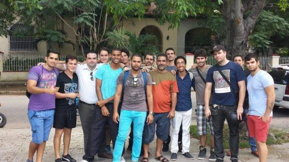 Parte del equipo de administradores. Foto: Snet.