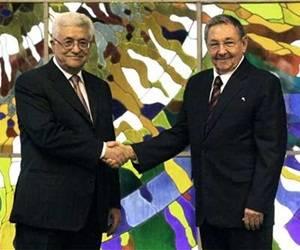 Presidente cubano reitera la solidaridad con la justa causa del pueblo palestino. Foto: Archivo.
