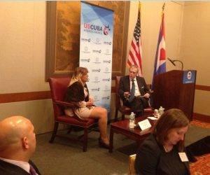Encuentro de intercambio entre bancos de Cuba y EE.UU en Nueva York, septiembre de 2016. Foto: Archivo de Cubadebate
