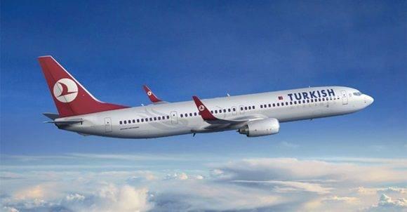 Turkish Airlines inaugurará linea Estambul-La Habana-Caracas en diciembre.