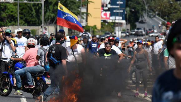 Resultado de imagen para La criminalidad de la oposición venezolana y la injerencia extranjera