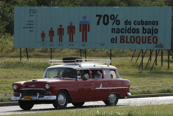 Una calle en La Habana. Foto: AP
