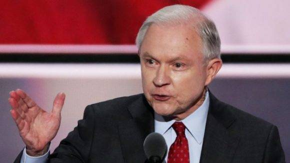 Jeff Sessions podría ser el secretario de Defensa. Foto: AFP