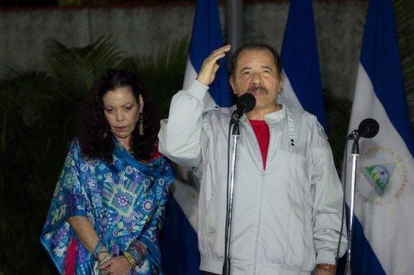 Daniel Ortega habla el dia electoral