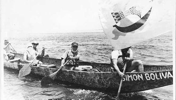 Resultado de imagen para expedición En canoa del Amazonas al Caribe.