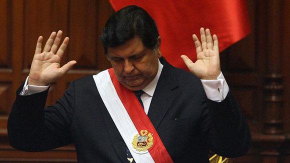 El suicidio de Alan Garca  Cubadebate
