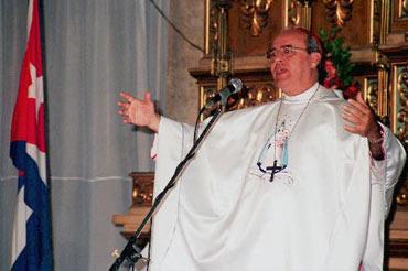 El cardenal Jaime Ortega, en esta foto de archivo
