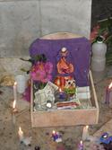 Ofrenda a San Lázaro