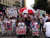 Protesta en Miami contra los abusos a inmigrantes cubanos detenidos en Bahamas