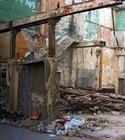 Un edificio en ruinas en Cuba