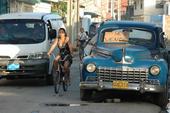 Un automóvil en venta en Cuba