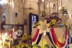 Santuario de la Virgen de la Caridad del Cobre: Salud y Manrique, Centro Habana. El pasado viernes 7 de septiembre, la víspera