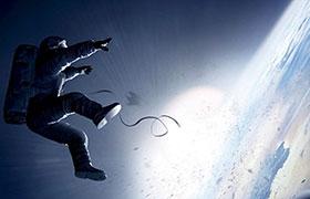 Escena de la película Gravity