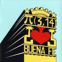 Cubierta del último compacto de Buena Fe, diseñada por Lizbett Villegas Fonseca