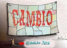 Muerte de Payá, Caricaturas de Garrincha