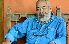 El escritor y periodista Leonardo Padura