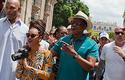 La pareja de superestrellas Beyoncé y Jay-Z en Cuba