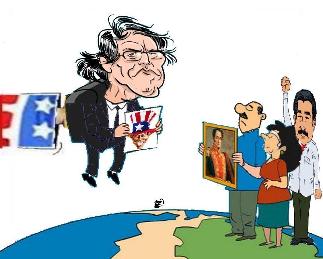 Resultado de imagen para DIBUJO DE LUIS ALMAGRO OEA