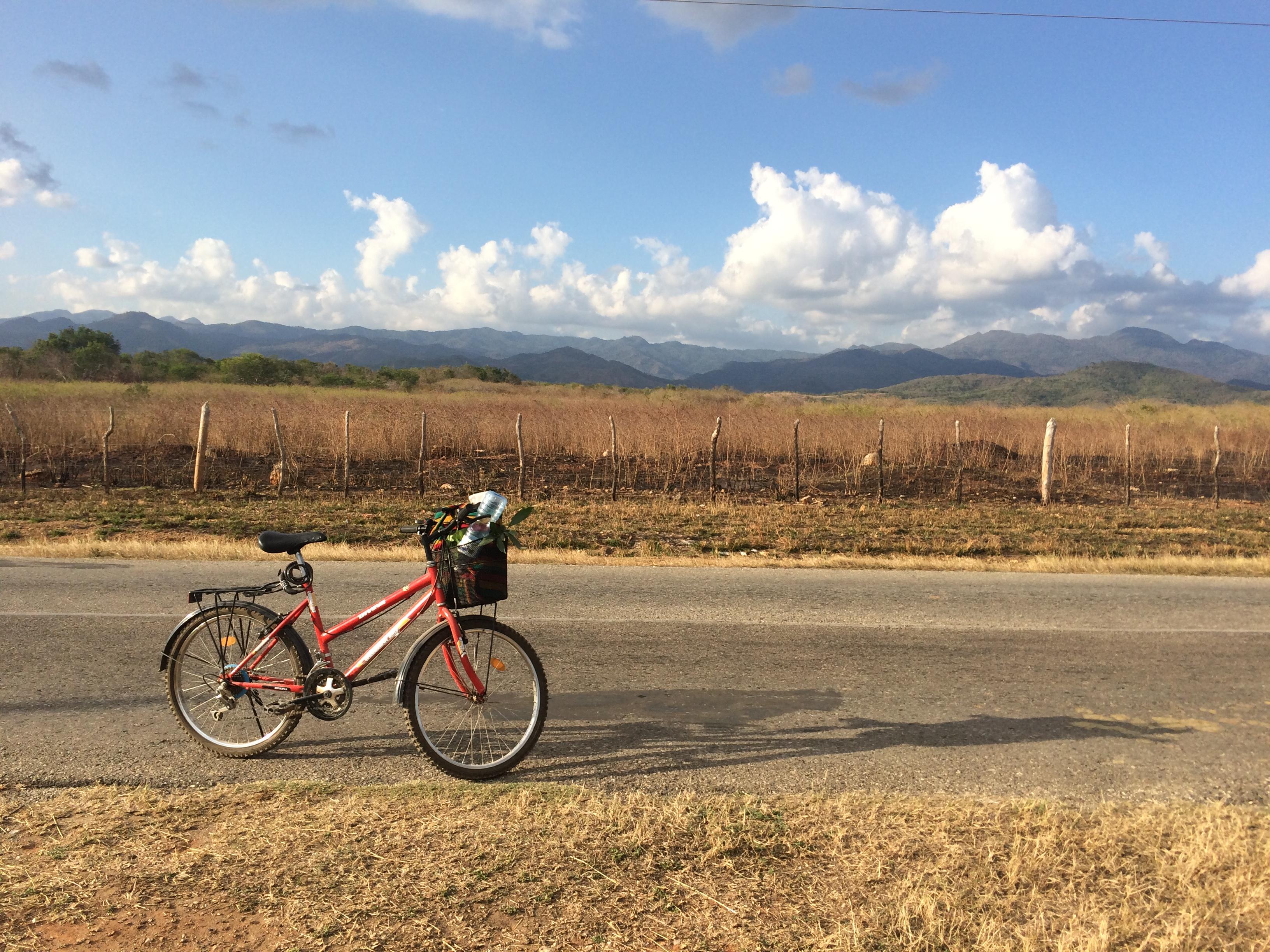 sykkel ferie på Cuba