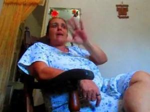 A Miriam Escalona le practicaron una colostomía en 2003