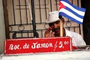 Cuentapropista en Santiago de Cuba_foto tomada de internet