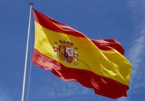 La bandera de España (foto del autor)