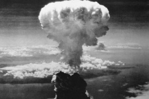 Hongo nuclear en Hiroshima (foto tomada de Internet)