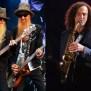 Famous Saxophone Players Kenny G Banda De Rock Zz Top Y