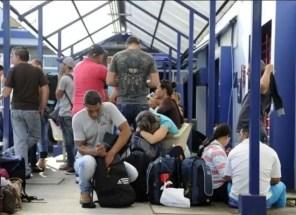 El arribo de miles de cubanos desató una crisis migratoria en Centroamérica desde el pasado noviembre (Foto: notimerica.com)