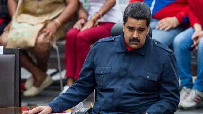 Nicolás Maduro sabe que ya no tiene respaldo popular (foto: EFE)