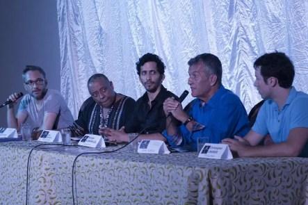 Rueda de prensa en la sala Ernesto Lecuona (Foto: Ana León)