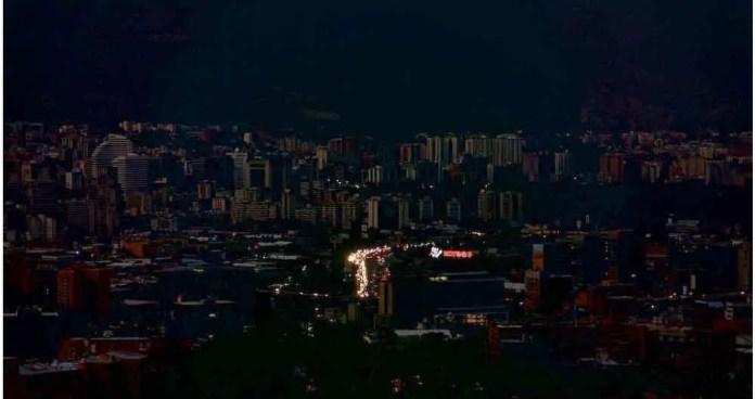 Resultado de imagen para apagón venezuela