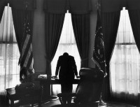 JFK in oval office  Cuban Missile CrisisCuban Missile Crisis