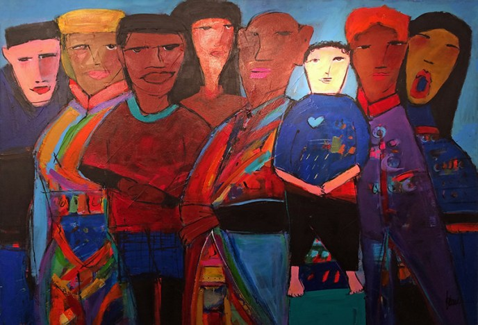 Choir /  by Herson - Israeli Artist