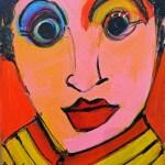 Self-Portrait / Auto retrato by Herson - Israeli Artist