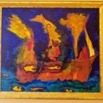 Fuster / Gold Frame / $2900
