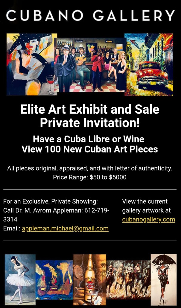 Cubano Gallery Exhibit 2018