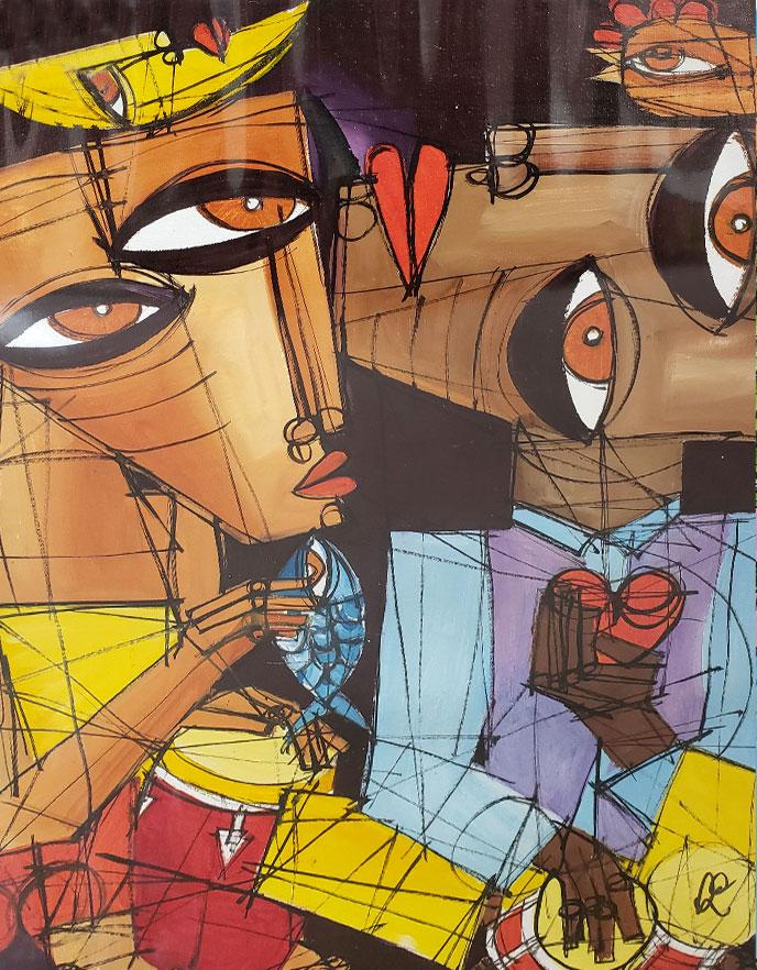 Heart and Soul / Corazon y alma by Avila