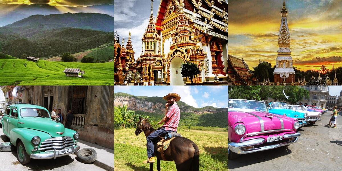 Cuba Et La Thaïlande En Tête Des Recherches Touristiques
